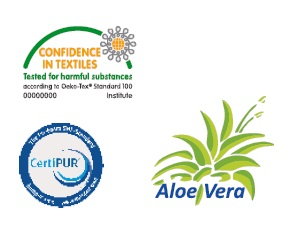 Сертификати на матрак Polilattex Aloe Merino
