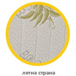 Дамаска на матрак Polilattex Aloe Merino лятна страна